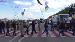 Ветерани війни на Донбасі перекрили трасу «Київ – Чоп» через припинення виділення землі (відео)