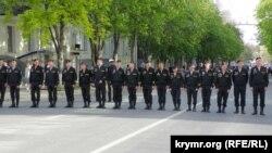 Репетиция военного парада в Севастополе, 5 мая 2021 года