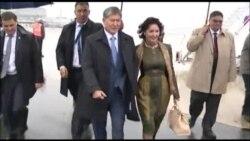 Президент Атамбаев прибыл во Францию