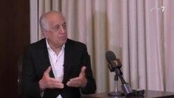 خلیلزاد: طرح های صلح افغانستان از ۳۰، به ۲ طرح کاهش یافته