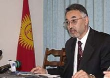 Kyrgyzstan -- Bakir uulu, Tursunbai