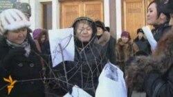 Жители Шанырака нарядили свою ёлку