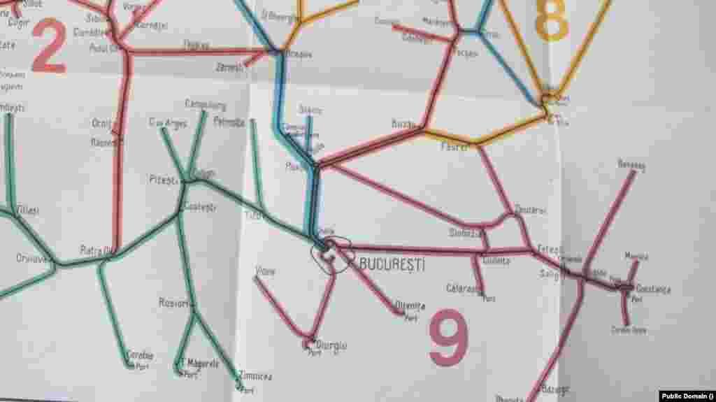 Încă din secolul XX erau trenuri care făceau curse între București, Mamaia și Constanța