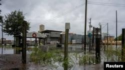 Štete koje je izazvao uragan Laura u američkoj državi Louisiana, 26. avgust, 2020.