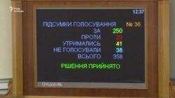 Рада ухвалила закон про функції та повноваження регулятора з енергетики (відео)