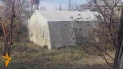 Xaçmazda hələ də çadırda yaşayanlar