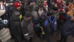 Kremlin Loyalists Assault Human Rights Rally In Moscow