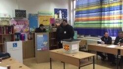 Glasanje u Skoplju protiče bez problema