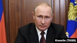 Russian President Vladimir Putin made the announcment during a televised address to the nation on June 23.