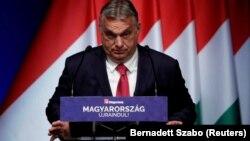 Orbán Viktor a Világgazdaság 2021. június 9-i konferenciáján jelentette be a választások előtti szja-visszatérítést