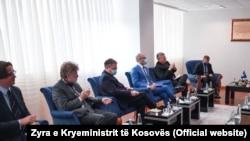 """Амбасадорите на земјите од таканаречената на """"Голема петорка"""" во Косово"""