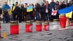 Євромайдан у Празі