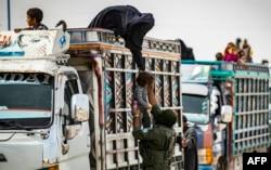 Nevladine organizacije zabrinute su zbog humanitarnih uslova u kojim u kampovima žive žene i djeca (fotografija iz kampa Al-Hol, oktobar 2020)