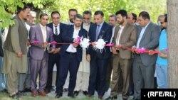 مراسم افتتاح کارزار واکسیناسیون حیوانات خانگی که از سوی وزارت زراعت و مالداری افغانستان در کابل برگزار شده بود.