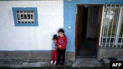 Հայաստան - Դիլիջանում ապաստանած արցախցի երեխաներ, հոկտեմբեր, 2020թ.