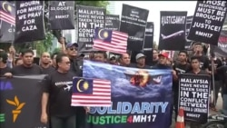 Kuala Lumpur Protesters Demand Justice For MH17 Victims
