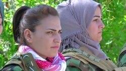 Фармондеҳи занони курд: Ҷангҷӯёни ДОИШ аз зан метарсанд