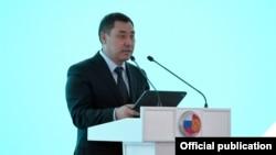 Садыр Жапаров Таласта. 17-март, 2021-жыл.