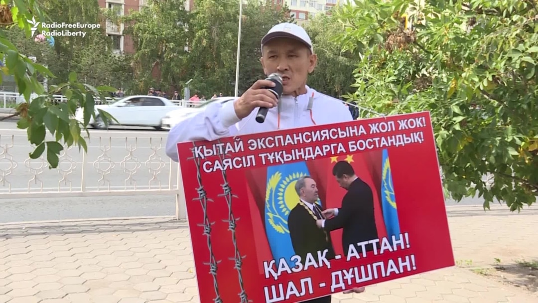 Kazakh Authorities Say Dozens Detained During Unsanctioned Rallies