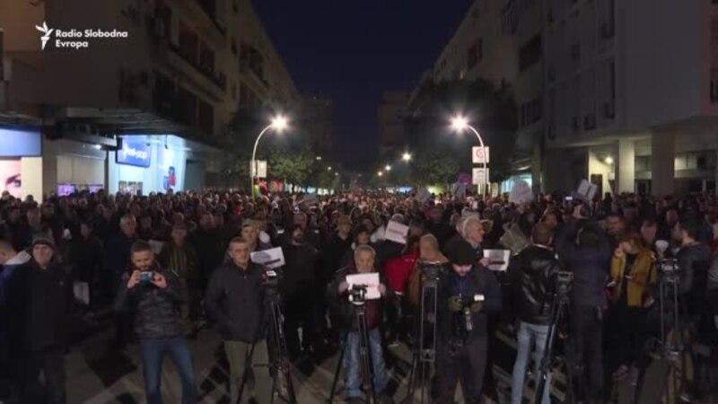 Građanski protest u Podgorici