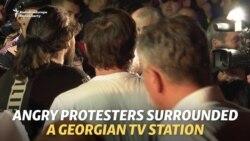 Putin, înjurat fără menajamente la un post TV din Georgia