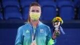 Українська тенісистка Еліна Світоліна завоювала бронзову нагороду на Олімпійських іграх у Токіо.Світоліна стала першою тенісисткою в історії незалежної України, якій вдалося завоювати олімпійську медаль. Токіо, 31 липня 2021 року