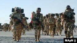 Imagini de arhivă cu soldații români din Afganistan