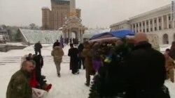 В Киеве простились с погибшим в Донбассе капитаном полиции