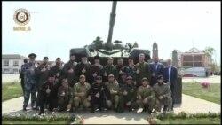 Кадыров открыл памятник танку Т-72. Россия применяла их в Чечне