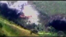 Kolumbiya ordusunun hərbi əməliyyatının görüntüsü yayılıb