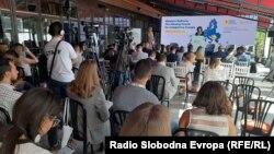 """Младинскиот форум """"Гласот на младите дома го обединува регионот""""."""