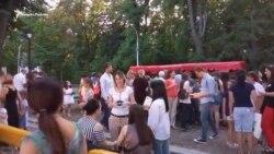 Во Владикавказе открылась первая уличная библиотека