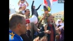Сирійці протестують проти можливого удару США