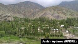 Бул Баткендин тоо арасындагы Кыштут айылы.