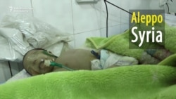 'No Soldiers Here, Only Children' At Embattled Hospital In Aleppo