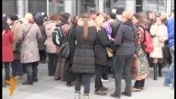 Beograd: Gužva ispred JDP-a