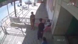 تصاویر کمره های امنیتی از جریان حمله بر مسجد شیعه ها در کندهار