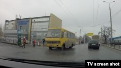 Автовокзал «Південний» у окупованому Донецьку