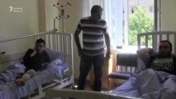 Yerevanda qarşıdurma zamanı 75 nəfər xəsarət alıb