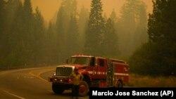 Dim iznad šume, Kalifornija