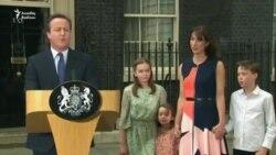 David Cameron Londondakı iqamətgahı tərk etdi