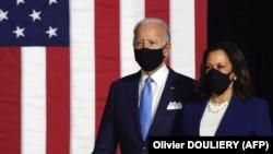 جو بایدن رئیس جمهور منتخب امریکا و معاونش کاملا هاریس