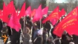 Чаллы коммунистлары протест җыены уздырды