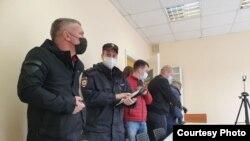 Полиция в штабе Навального в Пскове