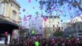 У паризьке небо злетіло 130 кульок в пам'ять про жертви атак у Парижі (відео)
