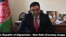 په نوي ډهلي کې د افغانستان سفیر فرید ماموندزی