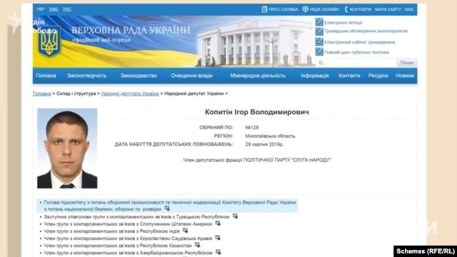Впадає в око, що керівником цього підкомітету є його брат – депутат Ігор Копитін