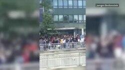 Coadă uriașă la vot, în fața consulatului din München