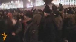 Разгон демонстрации на площади Независимости