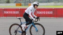 Масума Али Зада на Игрите в Токио